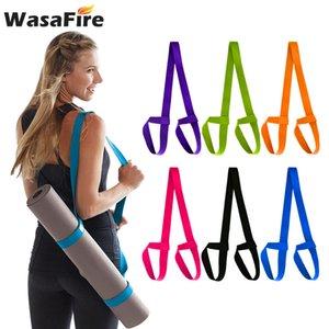 Adjustable Elastic Yoga Mat Strap Belt Sports Sling Shoulder Carry Straps Belts Gym Fitness Exercise Equipment Accessories