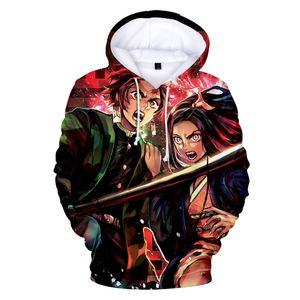 Demon Slayer Hoodies Men Women 3D Print Sweatshirts Harajuku Anime Fashion Fall Winter Hoodies High Quality Print Mens Hoodies