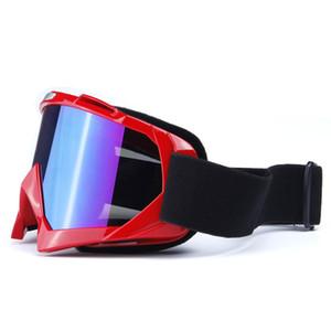 Masque de ski de fond Motocross Lunettes Hommes Femmes Snowboard Lunettes UV400 Protection anti-buée ski Lunettes Moto VTT Vélo