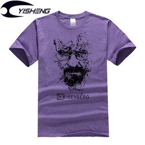 Breaking Bad T Shirt Men Heisenberg Top Quality Cotton Short Sleeve Men T-Shirt Mulheres Print Casual tshirt MT703