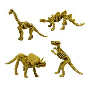 4Jurassic Simülasyon Dinozor Triceratops Diplodocus İskelet TRex Peluş Bebekler Doldurulmuş Hayvanlar Peluş Küçük Kılıç Ejderha İskeleti Oyuncak