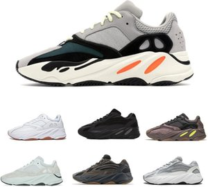 2019 Wave Runner Adidas yeezy boost 700 Blush Desert Rat Salt 700V2 Bianco Nero Scarpe da corsa Kanye West Uomo Donna Sneaker Sneaker Atletica Scarpe sportive 36-45