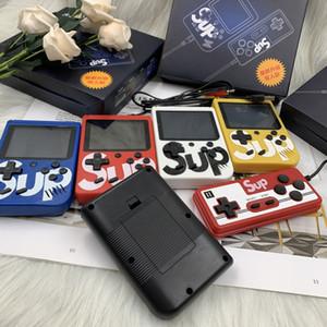 Nuovo Sup scatola del gioco 400 Games Retro mini console portatile 3,0 pollici bambini del giocatore del gioco Con 1000mAh batteria Uscita TV
