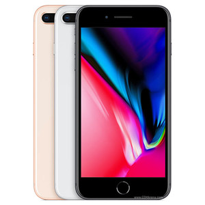 Recuperado Apple iPhone original 8 Plus 5.5 polegadas Fingerprint iOS A11 Hexa núcleo 3GB RAM 64 / 256GB ROM dupla 12MP Desbloqueado 4G LTE 1pcs telefone