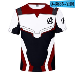 3d t-shirt المنتقمون endgame المنتقمون 4 معركة النهائية الكم المحارب قصيرة الأكمام مفاجأة captainT-shirt 3d 9 أنماط