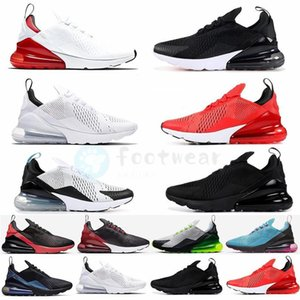 Baratos Nike Air Max 270 Mens Running Shoes 2020 Reagir Regency roxo Núcleo Branco Triplo Preto 270S mulheres dos homens formadores sneakers