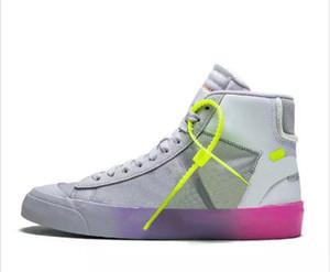 Serena Williams X Blazers Orta Gökkuşağı Tüm Hallows Eve Erkek Koşu Ayakkabıları Blazer Orta Stüdyo Grim Reepers Kadın Eğitmen Tasarımcı Sneakers