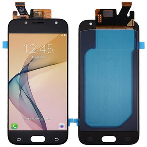 Samsung J5 pro (J530) OLED dokunmatik LCD ekranı için yedek parçalar, parlaklık ayarlı, Yedek Parçaları,