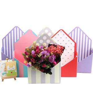 Blumen-Kasten Umweltfreundlich Weiß Karton-Umschlag Folding Blumen Rose Seifen-Blumen-Geschenk-Kasten-Verpackung Weihnachtskarton EEA1667