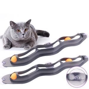 Otário Gato Amusing Janela Orbital Tipo Ténis de Mesa Playable Pet Dog Toys Segurança Conveniente Com Alta Qualidade 9 5bg J1