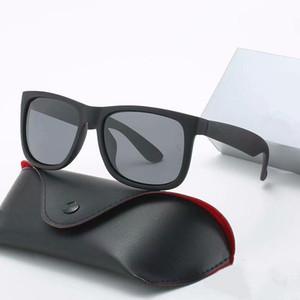 2020 New Ray Sonnenbrille Weinlese-Pilot Marke Sun-Glas-Band polarisiert UV400 Bans Männer Frauen Ben Sonnenbrille mit Kasten und Case9d01 #