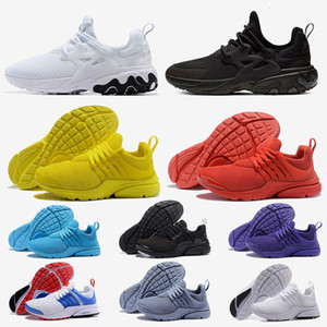 nike air Presto 5 Tennis Scarpe da corsa Uomo Donna Presto Ultra BR QS Giallo rosa Oreo Outdoor Fashion Sneakers da jogging Taglia US 5.5-12
