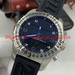 NEU 1884 Avengers Uhren Multifunktionsquarzwerk Armbanduhr Sport-Schwarz-Gummiband Professionelle Uhren Mens