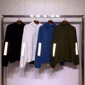 남성 여성 의류 옴므 후드 스웨터 남성 여성 세련된 후드 하이 스트리트 후드 스웨터 겨울 스웨터