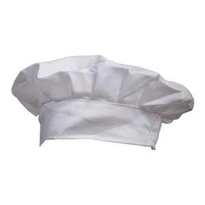 Fancy Dress Party Baker Cook BBQ Kitchen White Chef Hat