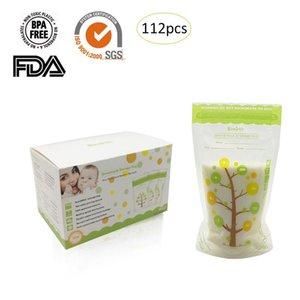 112pcs / pack 235ml Baby Breast Milk Storage Bilk Freasm Bilk