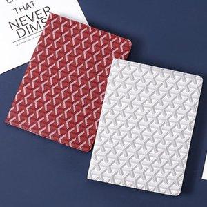 أعلى مصمم جديد الكمبيوتر اللوحي حامل حقيبة جلد مع غطاء لينة TPU لباد مصغرة 1234 آي باد برو 9.7 / 10.5 الهواء 2 صدمات الخمول قذيفة