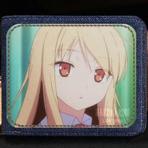 Сиина Маширо бумажник Сакура так не домашнее животное на kanojo кошелек комикс короткие денежные ноты дело деньги notecase кожа Жан Бурс сумка держатели карт