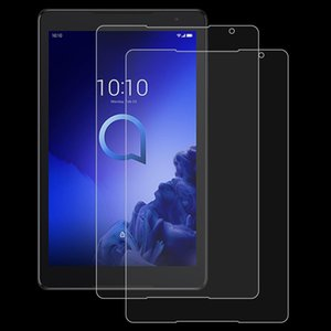 2 PCS 9H 0.3mm Explosion-proof Tempered Glass Film for Alcatel 3T Tablet 2019 10 inch