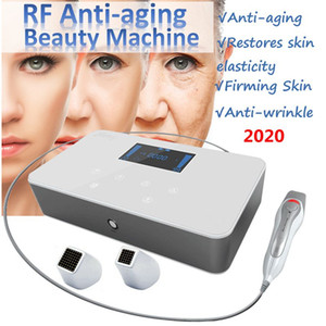 Portable Fractional RF Intelligent Dot Matrix Radio Frequency Beauty Machine Skin Lifting Tighten Anti-aging Wrinkle Removal Facial Skincare