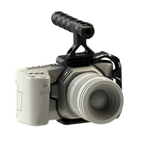 Mezza gabbia CAME-TV BMPCC 4K + manico DSLR