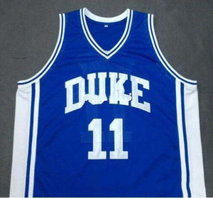 custom XXS-6XL Vintage custom DUKE Blue Devils # 11 BOBBY HURLEY College basebs jersey S-4XL Or custom any name or number jersey