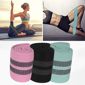 Free DHL Squat Resistance Bands Fitness Yoga Elastic Band Exercise Belt Hip Rubber Hip Practice for Fitness Resistance Stretch X90FZ