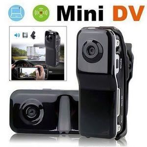 MD80 Mini DV DVR Cámara deportiva para bicicleta / moto Video Audio Recorder 720P HD DVR Mini DVR Cámara + Soporte
