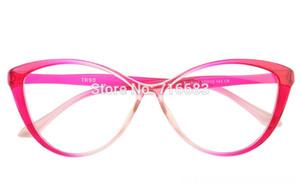 Fashion Ladies Women Vintage Cat Eye Full Rim Clear Lens Eyeglass Multi Black Blue Frame Eyewear Glass Sunglasses Frames Eyewear & Accessori