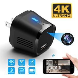 66 Degree 4K FHD mini WiFi IP Plug USB Camera caricatore a distanza ipcam sicurezza di visione notturna Recorder Monitor Motion Detection View