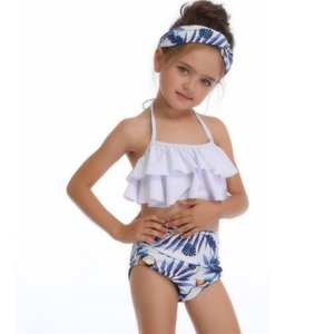 13 Colors Girls Swimsuits Bikini set Lovely Tall Waist Fission Multicolors Summer Time Beach Style Swimsuits
