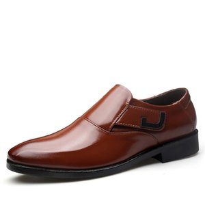 Printemps Automne Hommes Chaussures De Mariage Formel Hommes De Luxe Business Dress Chaussures Hommes Mocassins Pointy Chaussures