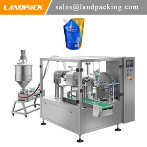 Automatic Hand Soap Detergent Spout Pouch Filling Machine Liquid Doypack Packing Machine