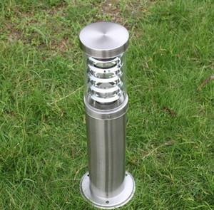 في الهواء الطلق القطب قضيب بولارد ضوء عمود آخر مصباح LED الحديثة الفولاذ المقاوم للصدأ للماء في الهواء الطلق في الحديقة مصباح ضوء LLFA