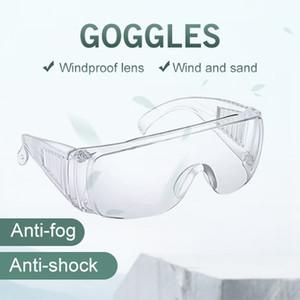 Luogo di consegna veloce forniture di sicurezza protezione degli occhi laboratorio air dust anti-fog effetto che cura trasparente uso di ventilazione occhiali di sicurezza gla