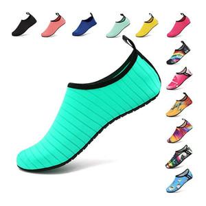 sapatos de praia homens verão água natação Shoes Shoes Aqua Beach Big Plus Size sapatilha por Homens Listrado zapatos coloridos hombre