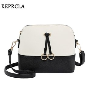 Borse a tracolla patchwork REPRCLA per le donne 2019 moda borsa a tracolla donne shell borse a tracolla in pelle di lusso designer borsa Y190606