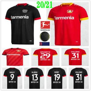 2020 2021 Bayer 04 Leverkusen maglie calcio BAILEY BRANDT HAVERTZ Volland DIABY ALARIO personalizzata 20 21 In casa Fuori casa per adulti bambini Football Shirt