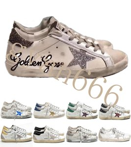 New Italy Brand Multicolor Golden Superstar Gooses Designer Sneakers Men Women Classic White Do-old Dirty Shoes Casual Shoes Size 35-45