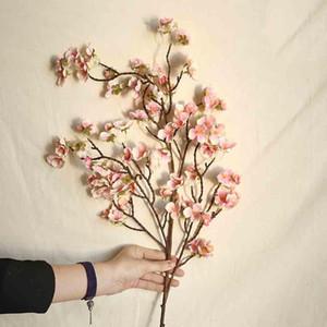 97 cm künstliche cherry spring plum pfirsichblüte zweig silk flower tree decor cd