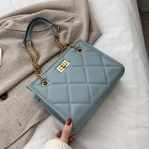 2020 Fashion Shoulder Bag Women Travel Bags Leather Pu Quilted Bag Female Luxury Handbags Women Bags Designer Sac A Main Femme