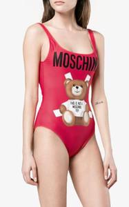 MOSC Petit Ours Designer mode Maillots De Bain Bikini Pour Femmes Lettre Maillot De Bain Bandage Bi quinis Sexy Maillot De Bain S-XL