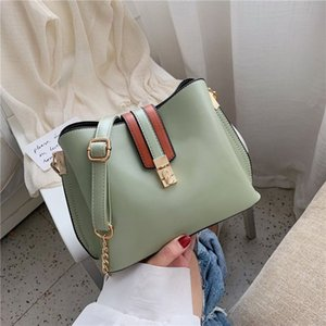 Women's Bag 2020 new Instagram one-shoulder cross-body bag fashion versatile simple chain bucket