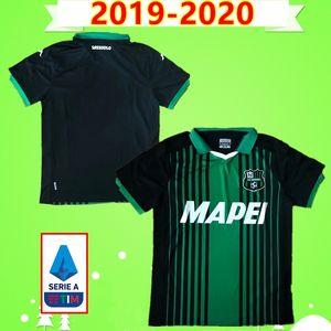 U.S. Sassuolo Calcio # 25 BERARDI # 9 CAPUTO # 17 MULDUR # 31 FERRRI2019 2020 Sasolo futbol forması 19 20 football shirt # 11 SAVUNMA # 8 DUNCAN BOGA TRAORE OBIANG