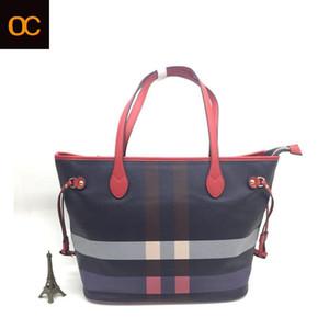 Eski Cobbler Kadın tek omuz çantası klasik Kaplı tuval Gerçek Deri kayış çanta en kaliteli Makyaj Çantası moda Anne çantaları Ücretsiz D