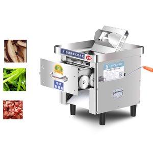 850W Bureau électrique manuel à double usage viande Cutter machine Pull-out lame Shred Slicer Dicing machine Viande commerciale Machine Slicer