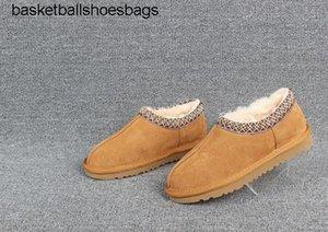Boots Australia TASMAN SLIPPER designer women man Classic winter boots black TAN Ankle snow Boots winter