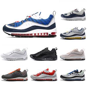 nike Air Max 98 airmax 98 shoes Drop Shipping UK GMT Laufschuhe für Männer Frauen Gundam Tour gelb-blau Triple Black South Beach Läufer Chaussures Sport Snaker 36-45