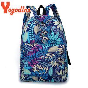 Yogodlns Canvas Women Backpack Female Large Capacity High Schoolbag Korean Vintage Girl Shoulder Bags Travel Bag Sports