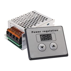 Регулятор температуры скорости электрического двигателя регулятора силы напряжения тока SCR AC Затемнитель 4000W 220V для подогревателя воды электрической печи